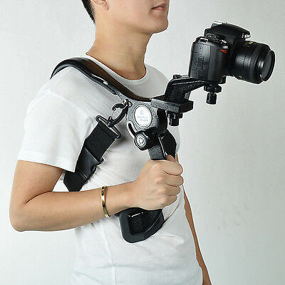 Shoulder Pad Mount  Camcorder DV Video DSLR Camera Hand Free Stabilizer Support