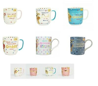 Boofle Mugs - Boofle Gift Sets - Various Designs For All Occassions - Mum - Dad