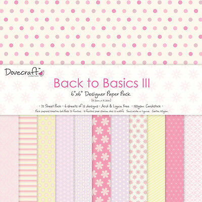 Dovecraft Back to Basics III - 6x6 Full Pack