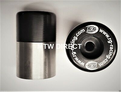 R&G RACING BAR END WEIGHT SLIDERS Aprilia RS125 (2002)