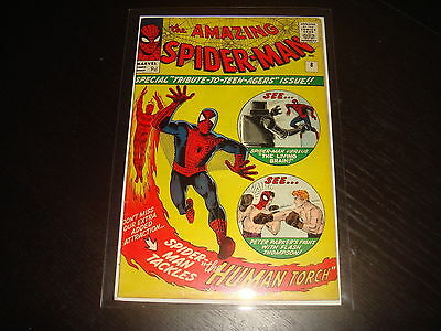THE AMAZING SPIDER-MAN #8 Stan Lee Steve Ditko Marvel Comics 1963  FN+