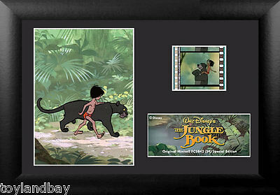 Film Cell Genuine 35mm Framed Matted Disney Jungle Book S2 USFC5842 Spec Edition