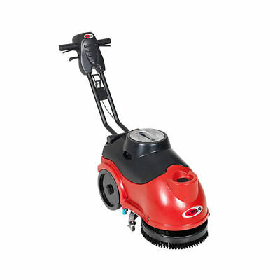 "NILFISK VIPER AS380B Compact Battery Operated 15"" Walk Behind Scrubber Dryer"