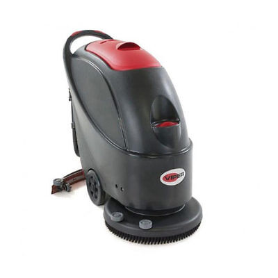 """VIPER AS430B Battery Operated 17"""" Compact Walk Behind Scrubber Dryer"""