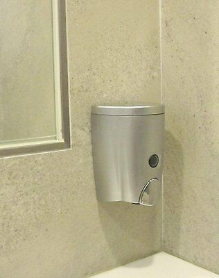 NEW Simply Silver Wall-Mount Soap Dispenser (20oz) Free Shipping