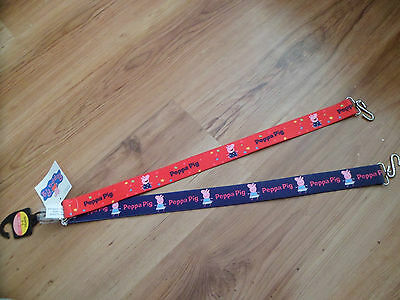 New M&s Peppa Pig 2 Pack Girls Belts Age 6-8 Years