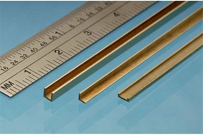 ALBION ALLOYS A3 Laiton - Brass Angle 3 x 3 mm (1p.)