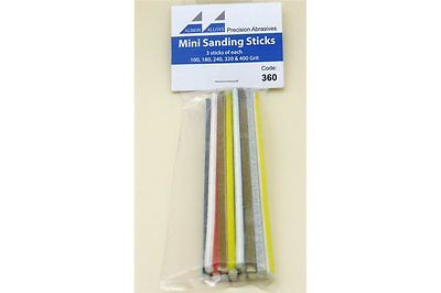 FLEX-I-FILE ALBION FF360 Mini Sanding Sticks Assorted