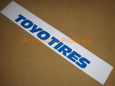 "53"" Toyo Tires windshield banner Decal Sticker sun visor strip window gt3 rs mud"