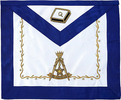 Masonic Scottish Rite 14Th Degree Apron Aasr Hand Embroidered (Ma-310)