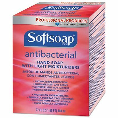 Softsoap 800 mL Antibacterial Hand Soap, Clean Scent, 12/CT (CPC01904CT)