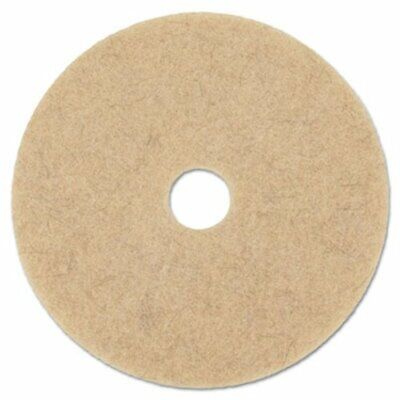 "Boardwalk High-Speed Floor Pads, 19"" dia, Natural Hair, 5 Pads (BWK4019NHE)"
