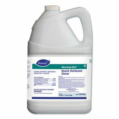 Morning Mist Neutral Disinfectant Cleaner, 4 Gallons (DVO5283038)
