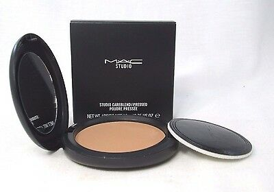 Mac Studio Careblend/ Pressed Powder ~ Medium Deep ~ .35 oz. ~ BNIB