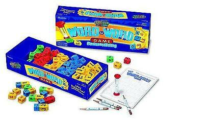 NEW Learning Resources Reading Rods Word For Word Phonics Game ~ Word Building
