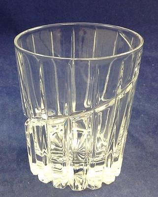 Mikasa Crystal UPTOWN Double Old Fashioned SN104 GREAT CONDITION