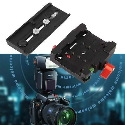 Quick Release Clamp Adapter QR Plate P200 Compatibl pour Manfrotto 501 500Ah AH
