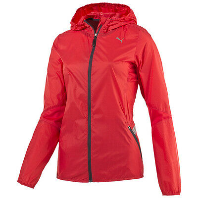 Puma Laufjacken Hooded Leightweight Jkt W Damenlaufjacken  | Damen orange