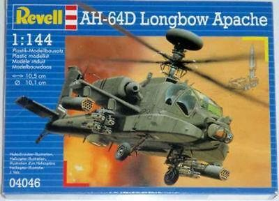 Revell Model Kit -AH64D Longbow Apache Helicopter - 1:144 Scale - 04046