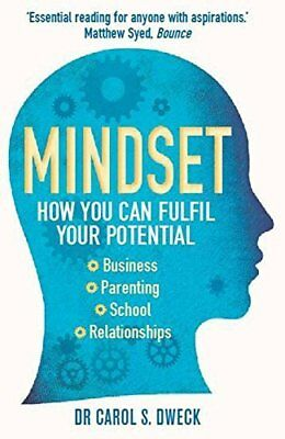 Mindset: How You Can Fulfil Your Potential by Carol Dweck New Paperback Book