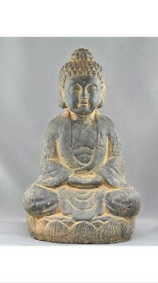 Antique Ceramic Statue Of Buddha