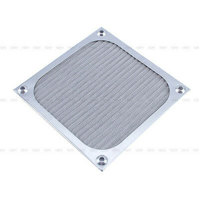 New Hot 120mm PC Fan Cooling Dustproof Dust Filter Case for Aluminum Grill Guard