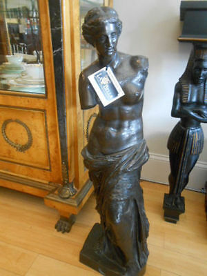 Bronze Reproduction Of The Famous Venus De Milo Statue
