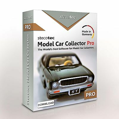 Stecotec Model Car Collector Pro: Inventory Software for Your Diecast Collection