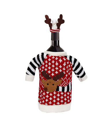 Christmas Party Table Decorations Xmas Decorations Home Party Wine Bottle Cover