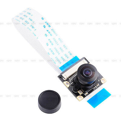 Camera Module Board 5MP Wide Angle Fish Eye+Night Vision Lenses For Raspberry Pi