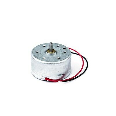 Miniature Low Inertia Solar Motor 2V 1540RPM Clockwise for Low Power Application