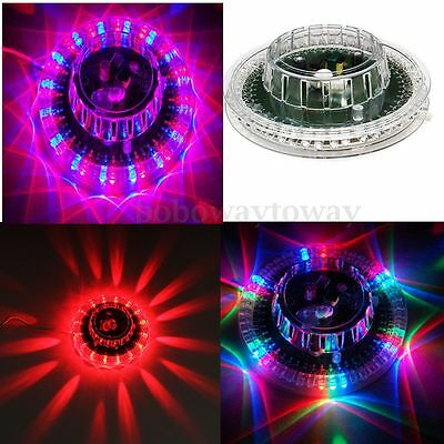 Colorful  LED Sunflower Stage Light Disco Party Bar RGB Voice Sound Control Lamp