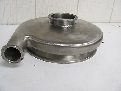 """Generic Centrifugal Pump Head Stainless Steel 1-1/4"""" Outlet 2-3/4"""" Inlet"""