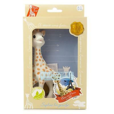 Sophie The Giraffe In Gift Box Natural Rubber Teether Baby Toy
