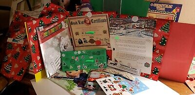 Personalized Letter from Santa includes Nice Certificate & 1 Gift from Santa