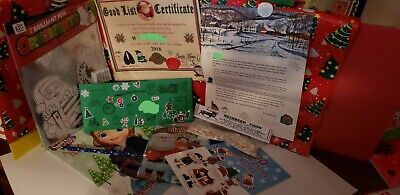 Personalized Letter from Santa includes Nice Certificate &  3 Gifts from Santa