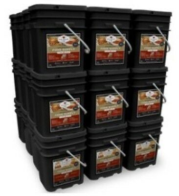 WISE 4320 Serve Freeze Dried Food Survival 25 Year Shelf Life TUBS 1 Pallet Lot