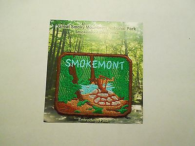 Smokemont Loop Hike Great Smokey Mountains National Park Iron On Patch