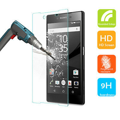 Front & Back Tempered Glass Screen Protector for SONY XPERIA Z5 Compact Premium