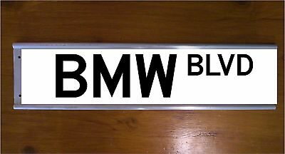 Bmw Street Sign Road Sign/ Bar Sign - Car - Souvenier