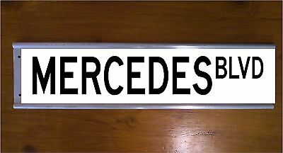 Mercedes Street Sign Road Sign/ Bar Sign - Car - Aluminium
