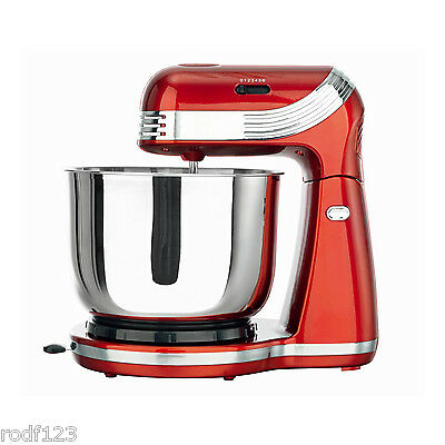Goodqol 6 Speed Metalic 3L Electric Stand Mixer with Tilt Release & Dough Hooks