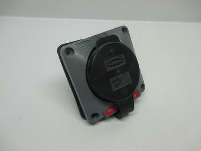Hubbell HBL2735SW 30A 3Ph 480V Flanged Inlet