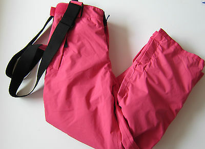 Boden Girls /ladies Pink Ski Pants Trousers Salopettes Ages 8-16