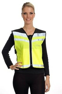 Equisafety Air Waistcoat Horse In Training Please Slow Down Rider Safety Wear