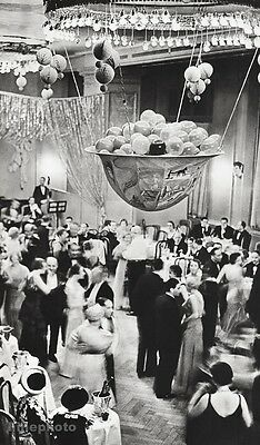1933/66 Vintage ST. MORITZ PARTY Dance Grand Hotel Art 16x20 ALFRED EISENSTAEDT
