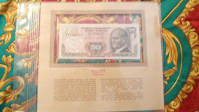 Most Treasured Banknotes Turkey 50 Lirasi 1970 UNC P 188 UNC
