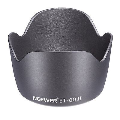 Neewer Flower Lens Hood f Canon EF 75-300mm 55-250mm Lenses Replace f ET-60 II