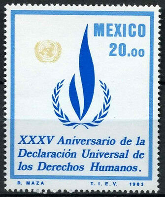 Mexico 1983 SG#1694 Human Rights MNH #D859