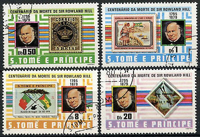 St. Thomas & Prince Island 1980 Sir Rowland Hill Cto Used Set #D964
